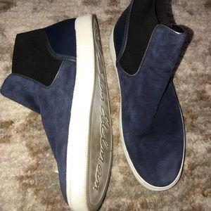 Womens Size 10.5 Suede Sam Edelman Sneaker Boots